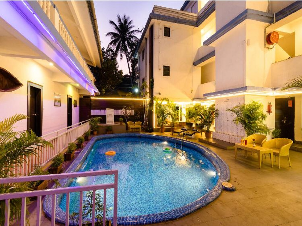 Hotel Mulberry Mint-budget hotel accommodation options in Goa